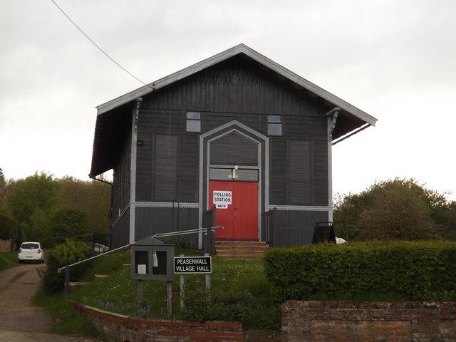 Peasenhall Polling Station