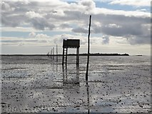 NU0842 : The Pilgrims way to Holy Island by Graham Robson