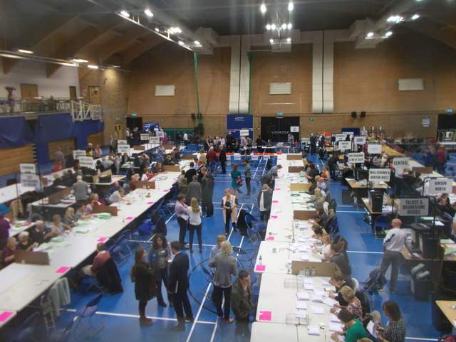 Littledown: election count underway