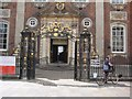 SO8554 : Polling Station in Worcester's Guildhall by Philip Halling