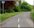 ST7860 : Unsuitable route for wide vehicles, Freshford by Jaggery