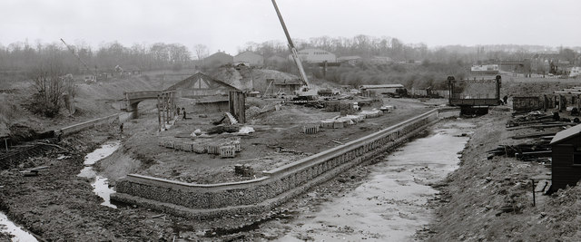 Black Country Museum under Construction 1978