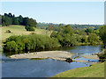 SO7580 : Shingle bank in the River Severn near Upper Arley, Worcestershire by Roger  Kidd