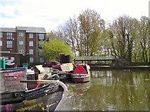 SJ9398 : Ashton Canal at Portland Basin by Gerald England