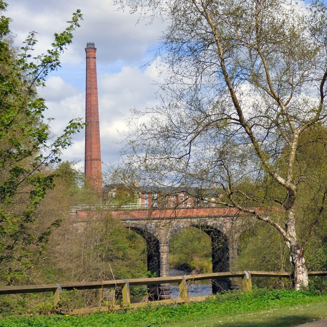 Viaduct and Chimney