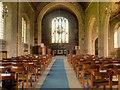 SD7844 : The Nave, St Leonard's Church by David Dixon