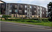 ST9273 : Recently-built flats in Chippenham by Jaggery
