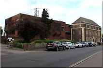 ST9273 : Chippenham telephone exchange by Jaggery