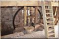 SO5864 : Birchley Mill - Pit Wheel by John M
