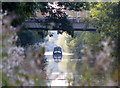 SP3783 : Narrowboat heading along the Oxford Canal by Mat Fascione