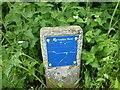 SK9828 : Stop valve sign by Bob Harvey