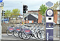 J3474 : Belfast Bikes, Gordon Street (May 2015) by Albert Bridge