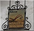 TG1323 : Cawston: St Agnes Church: The plough gallery at the foot of the tower by Michael Garlick