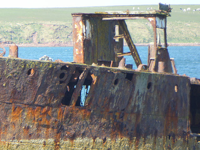 Wreck of the Juniata (detail)