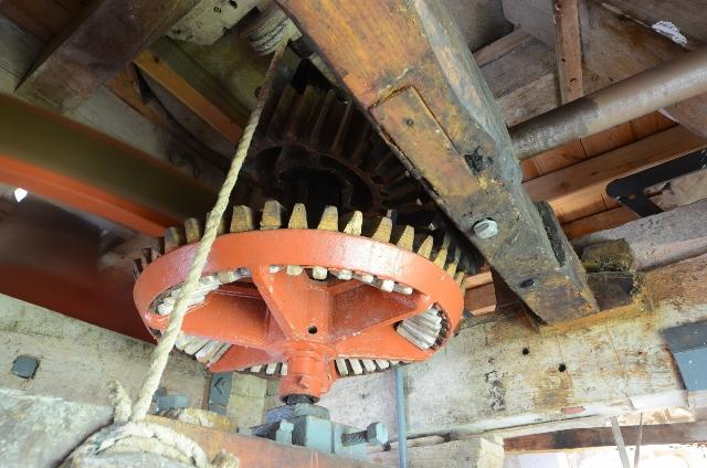 Stevens' Mill - Engine drive