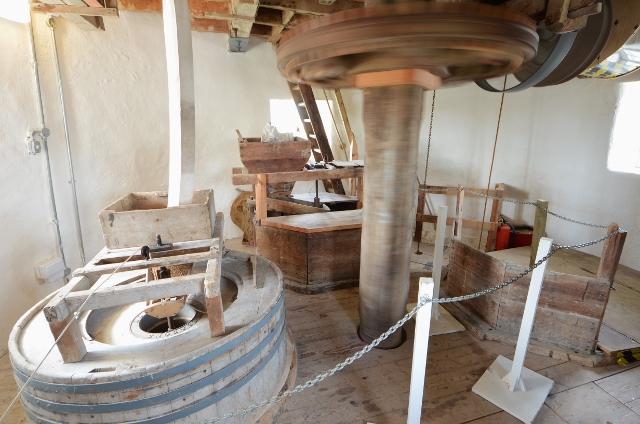 Stevens' Mill - Stone floor