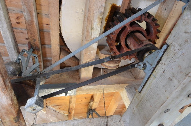 Stevens' Mill - Tentering gear