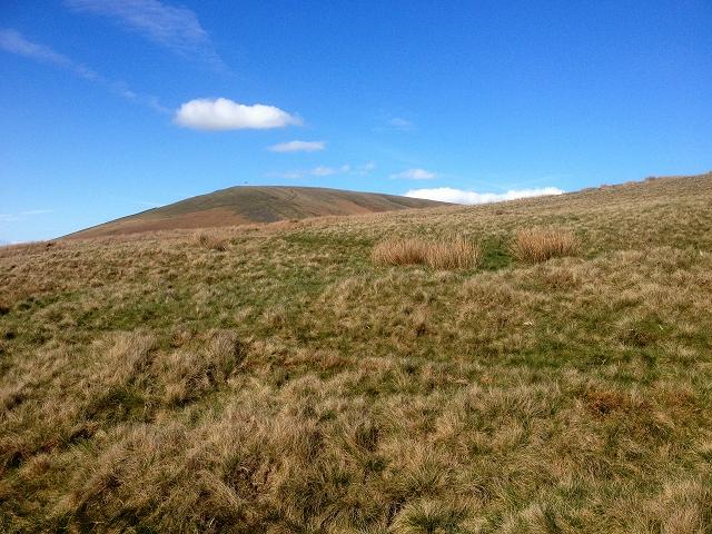 Pendleton Moor, looking towards Mearley Moor