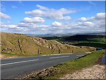 SD7738 : Clitheroe Road, Nick of Pendle by David Dixon