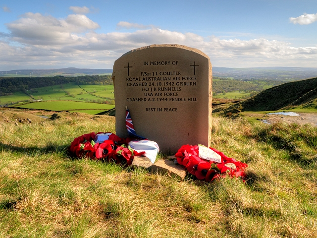 Memorial at Nick of Pendle
