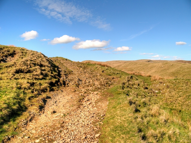 Moorland Track at Nick of Pendle