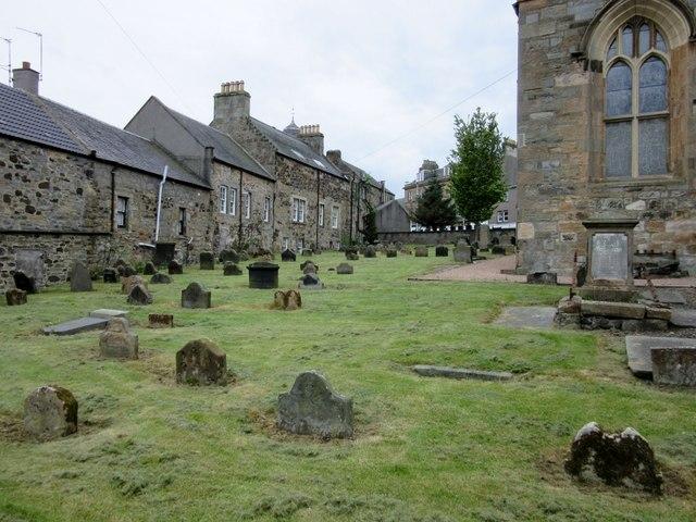 Graveyard at St. Peter's Parish Church, Inverkeithing