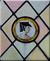 SP7054 : St Mary, Gayton - Roundel by John Salmon