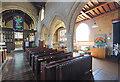 SP7253 : St John the Evangelist, Blisworth - South arcade by John Salmon