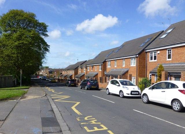 Housing on Netherton Lane