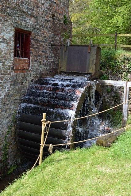 Wrickton Mill - Waterwheel
