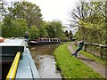 SJ9493 : A meeting of narrowboats by Gerald England