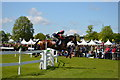 ST8083 : Badminton Horse Trials 2015: fence 23b by Jonathan Hutchins