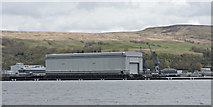 NS2489 : The big shed at Faslane by Thomas Nugent