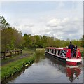 SJ9493 : Cornwall on the Peak Forest Canal by Gerald England