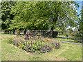TQ3091 : Flower Bed, Woodside Park, London N22 by Christine Matthews