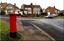ST3091 : Red corner in Malpas, Newport by Jaggery