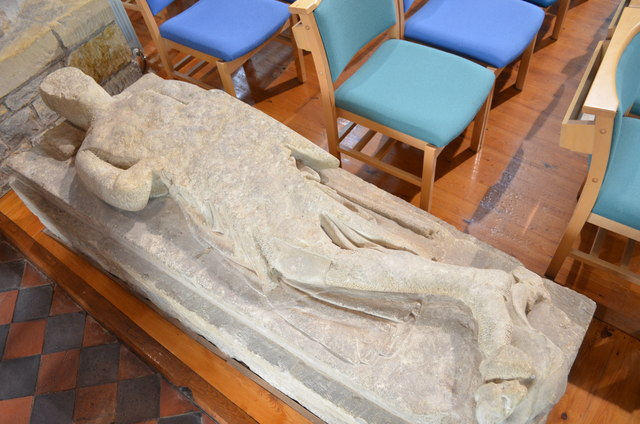 Effigy of Sir Gilbert Waterhouse, St Andrew's church