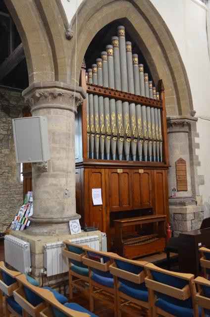 Organ, St Andrew's church, Kirton in Lindsey