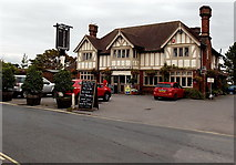SZ3394 : The Mayflower, Lymington  by Jaggery