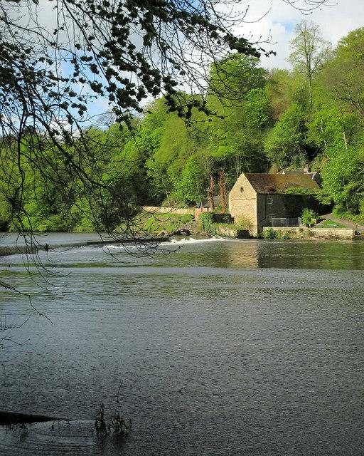 Durham: weir and former corn mill