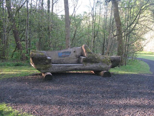 Park seat at Campbridge