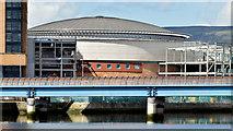 J3474 : The Waterfront Hall, Belfast - May 2015(6) by Albert Bridge