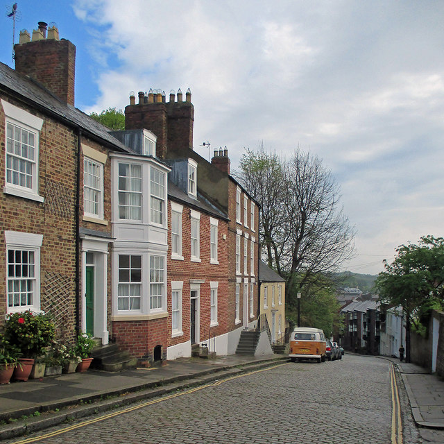 Durham: the north end of South Street