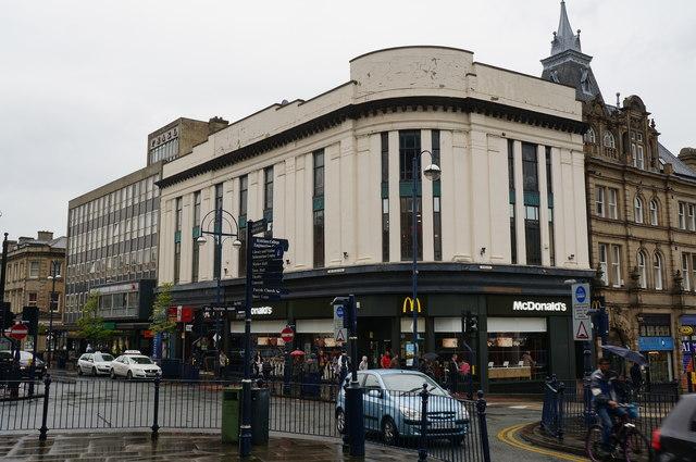 McDonald's  on John William Street, Huddersfield