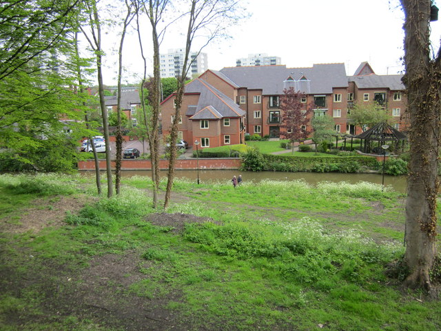 Canal Towpath Landscaping, Chester