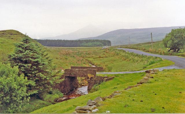 Southward in Joyce Valley near Kilmeelikin