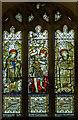SK9488 : Stained glass window, St Michael's church, Glentworth by Julian P Guffogg