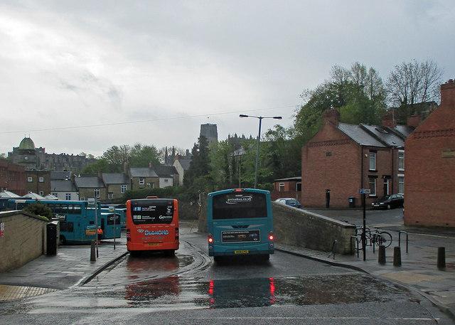Durham Bus Station C John Sutton Geograph Britain And Ireland