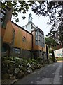 SH5837 : The loos at Portmeirion by Richard Hoare