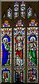 SK9982 : East window, St Michael's church, Hackthorn by Julian P Guffogg